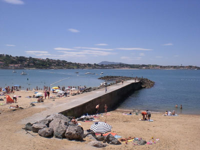 Beach of Saint Jean de Luz